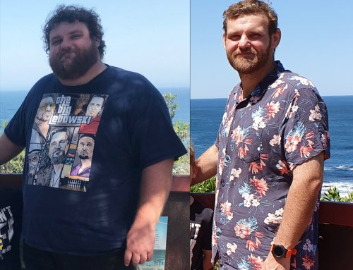 Matt's inspiring 79kg weight loss journey