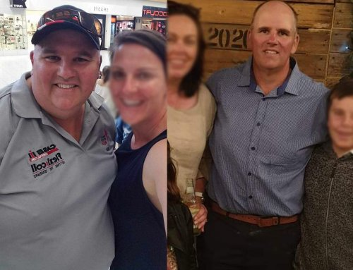 Nick lost 50kg and got his life back.