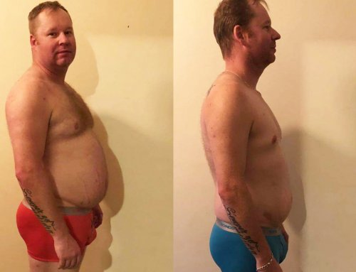 Andrew lost 20kg and got back in the ring!