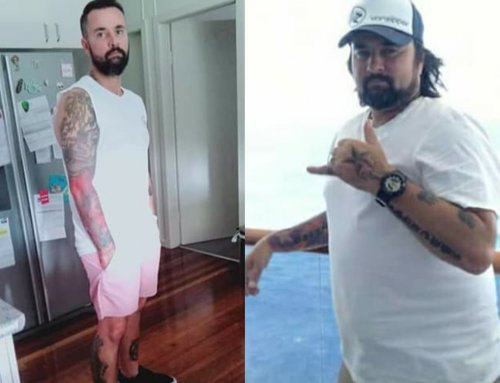 Adam turned back the clock and lost 24kg!